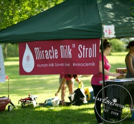Miracle Milk Stroll 2015 - Baltimore - Raising awareness of the importance of human milk for NICU babies